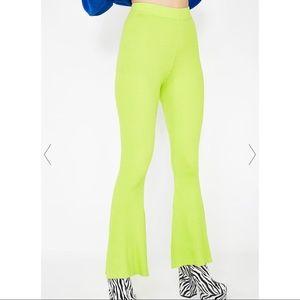 Pants - Flare Pants 💚 (NWOT)